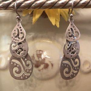 Silpada W2299 Sterling Silver Filigree Earrings